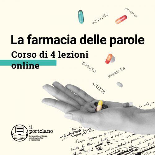 la-farmacia-delle-parole-corso di scrittura- ilportolano